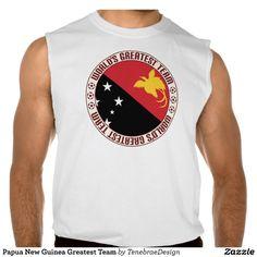 Papua New Guinea Greatest Team Sleeveless Shirts Tank Tops