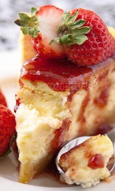 Scrumptious Strawberry Cheesecake