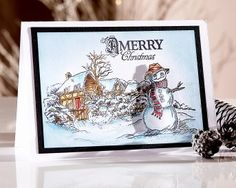 Create stunning winter scenes with these new metal dies & coordinating stamps from Sheena Douglass! Christmas Card Crafts, Christmas Cards To Make, Christmas Ideas, Xmas Cards Handmade, Pop Out Cards, Sheena Douglass, Crafters Companion Cards, Christmas Inspiration, Homemade Cards