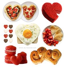 Valentines Ideas #food #recipes #heart #valentinesday #gift #pizza #cinnamonbuns #pancakes #cake #macaroons