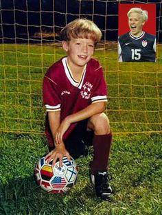 Megan Rapinoe : U.S. Soccer Women's National Team before they were stars