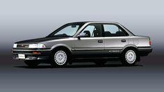 Toyota Corolla 6th gen. Corolla Twincam, Toyota Corona, Honda Civic Si, Mitsubishi Lancer Evolution, Nissan Silvia, Honda S2000, Nissan 350z, Daihatsu, Nissan Skyline