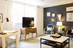 Bianca & Craig's Moody Glam Apartment