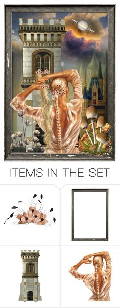 """""""Rapunzel"""" by ragnh-mjos ❤ liked on Polyvore featuring art, contest, rapunzel and artset"""