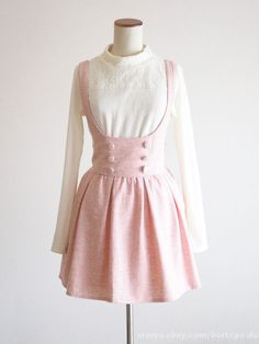LIZ LISA + My melody Jumper Dress JSK (Bonus Blouse SET) Lolita Size L Japan #LIZLISA #TunicJumperdress #Party