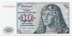 10 Deutsche Mark 1970 (Gorch Fock)