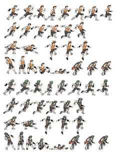 running sprite sheet - Google zoeken