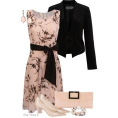 A fashion look from January 2013 featuring Kaliko dresses, Soaked in Luxury blazers and Jimmy Choo pumps. Browse and shop related looks.