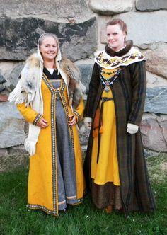 Trajes vikingos