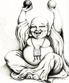 Por quê o Buda é gordo, sendo que ele representa o Auto-controle?