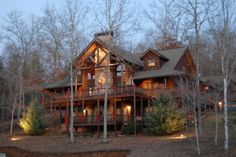 Log Home Christmas 2012, It has been a few years since I have posted any pix of the interior decorations.