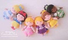 Princesas Baby com moldes
