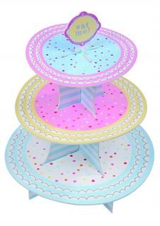 This 3 Tier Cake Stand is the perfect way to display all the goodies you've made to their best advantage. Dimension: 48 x Category: Baking Bits Cardboard Cake Stand, 3 Tier Cake Stand, 30th Birthday Parties, Sprinkles, Goodies, Paper Cake, Candy, Display, Corner