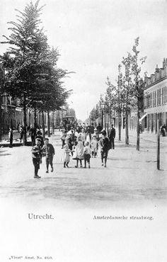 Amsterdamsestraatweg Utrecht, circa 1900
