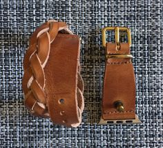 38mm Genuine Leather Apple Watch Band, 38mm Custom Band with Braided Detail, 38mm Watch Band | Made in USA by JJLeatherStudio on Etsy https://www.etsy.com/listing/491970600/38mm-genuine-leather-apple-watch-band