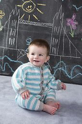 Ravelry: Royal Crochet Onesie pattern by Lorna Miser