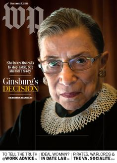 The question facing Ruth Bader Ginsburg: Stay or go? - The Washington Post