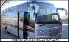 Microbus de lujo 35 plazas
