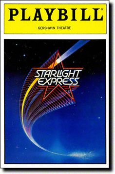 Andrew Lloyd Webber's Starlight Express opened March 15, 1987. The original cast included Jane Krakowski and Andrea McArdle.
