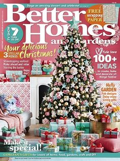 @bhgaus #magazines #covers #december #2016 #craft #garden #DIY #garden #recipes #food