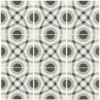 Merola Tile Twenties Circle 7-3/4 in. x 7-3/4 in. Ceramic Floor and Wall Tile FRC8TWCR at The Home Depot - Mobile