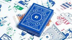 """Case: Facebook's annual insights   米Facebookが広告代理店・マーケティング会社に対して、""""Facebookのインサイトをプリントした""""トランプを配布しまし"""
