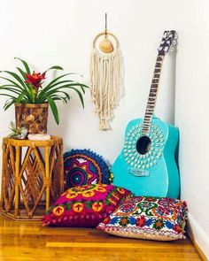 Beautiful colors! Love the shell dream catcher!!
