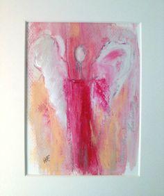 Engel  - ORIGINAL- von Art Du Soleil auf DaWanda.com