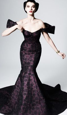 Zac Posen Pre-Fall 2013  Photo: Courtesy of Zac Posen  For the full collection and review, go to Vogue.com.
