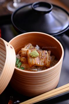 Anago Eel on Rice 穴子飯