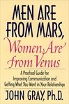 Men are from Mars, Women are from Venus is a book written by American author, and relationship counselor, John Gray. The book has sold more than 7 million copies and is reported to be one of the best selling self-help books of all time. Its theme became the foundation for the author's subsequent books, recordings, seminars, theme vacations, a one-man Broadway show and a TV sitcom.