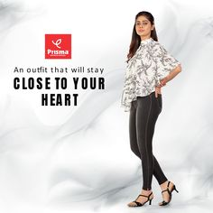 #Women will get that lovely look and trademark smile when they wear Prisma's branded #Jeggings PKT along with smart casual tops or tees. You can walk under the sun and continue doing your duties hassle free when you wear this supreme Jeggings JKT that comes with stylish prints. #prisma #prismagirl #StayHome #StaySafe #COVID19 #brandprisma #womenswear #prismajeggings #caprijeggings #capri #comfortwear #livafluid #premiumquality #jeggings #trend #style #vogue #fashion #ootd #outfit #shopping Smart Casual Tops, Casual Chic, Stretch Denim Fabric, Indigo Dye, Vogue Fashion, Jeggings, Supreme, Capri, Women Wear