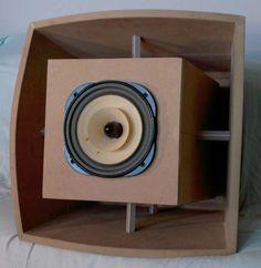 Kết quả hình ảnh cho folded horn speaker