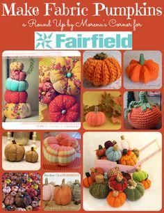 fabric pumpkin round up