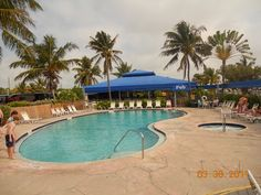 KOA Camping in the Florida Keys!!! Loved morning coffee and hot tub with the oldies doing aquafit in the pool.