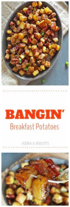 Bangin Breakfast Potatoes