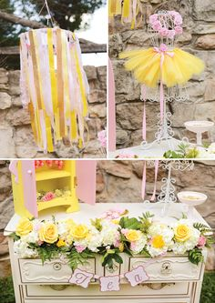 Belle Inspired Princess Tea Party Birthday {Be Our Guest – decoration Girls Tea Party, Tea Party Birthday, 6th Birthday Parties, Birthday Ideas, 10th Birthday, Baby Birthday, Princess Belle Party, Princess Birthday, Princess Theme