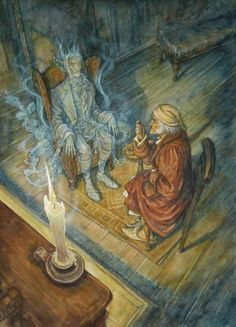Charles Dickens' 'A Christmas Carol' - the Ghost of Jacob Marley visits Ebenezer Scrooge by illustrator P. Dickens Christmas Carol, A Christmas Story, Christmas Art, Vintage Christmas, English Christmas, Xmas, Jacob Marley, Scary Ghost Stories, Holiday Pictures