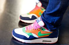 Cool Air Max trainers at the Sneakerness festival in Germany in October. I'd definitely get these.