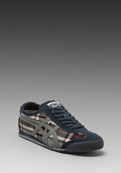 Onitsuka Tiger Mexico 66 in Grey Tartan Dark Grey Onitsuka Tiger Mens fd1cf77185d83