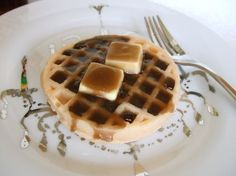 Waffle with Butter & Syrup Soap: Smells just like it looks. Also available a variety of faux food soaps.
