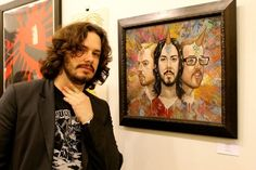 """When Edgar Wright said, """"I look a bit like Jesus in this."""" 