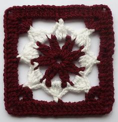 Floral afghan block... Free pattern!