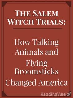 Learn about the Salem Witch Trials as you read through this passage and answer comprehension questions focusing on skills, such as summarizing and main idea!