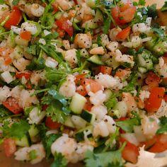 #SHRIMP #CEVICHE Recipe Please like share repin Thanks!! :)