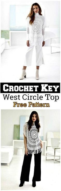What about this stylish and unique designed crochet key west circle top? It is very impressive and fashionable poncho that will fit on any kind of night parties in summer or go for a date. You can wear it on jeans, skirts and braod bottom paints.