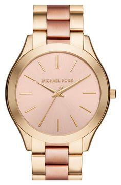 Swooning over this gold and rose Michael Kors watch. Definitely putting this at the top of my wishlist.