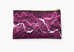 Funky Pink Abstract Waves