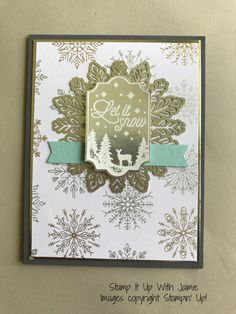 Stampin' Up! Merry Little Labels – Stamp It Up with Jaimie
