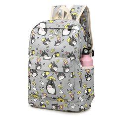Miyazaki Hayao Totoro Kawaii Travel School Backpack